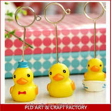 Rubber Duck Design Name Card Holder/Memo Clip
