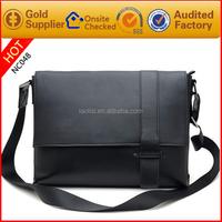 fashion business bag brand name men leather shoulder messenger bag