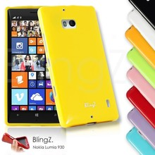 New Arrival Wholesale China Full Crystal Rugged Jelly Phone Cover Case for Nokia Lumia 930