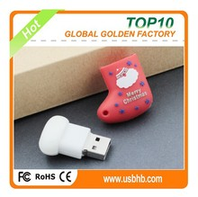 Best Chrismas Stocking promotional usb flash drive bulk 1gb cheapest price