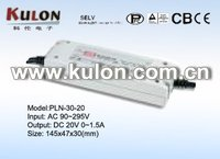 36v led driver Meanwell PLN-30-20 30w 100w
