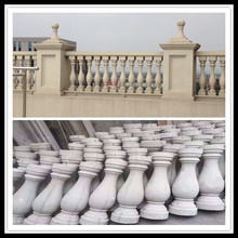 Wholesale GRC Concrete Cement Baluster Top &Base Railing Newal Posts