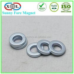 powerful ndfeb custom ring magnet