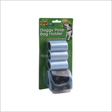 BIODEGRADABLE DOG WASTE BAG WITH DISPENSER