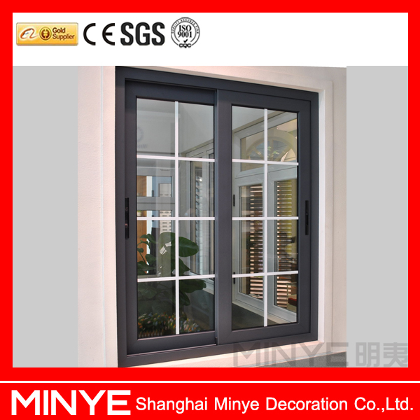 American modern house window grill design door and window for A t design decoration co ltd