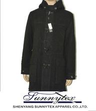 Sunnytex New high quality OEM Western mens long coat mens winter coats