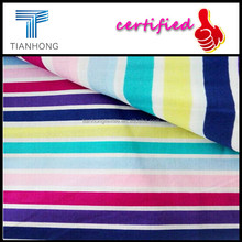 Wholesale Cotton Pigment Stripe Printing Sateen Fabric for Quilt/Bed Sheet With Silk Comfotable Hand Feeling