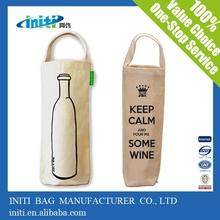 Quality cotton canvas bags | wholesale cotton wine carrier bag