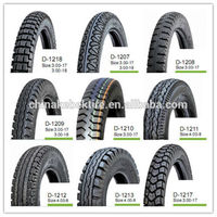 discount motorcycle tire 3.00-18 with warranty