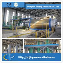 Full Open Door Batch Type 10 Tons Waste Tire Pyrolysis Plant
