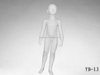 Wholesale white realistic Child Mannequin, kiddies mannequins,dummy mode YB13