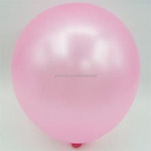 party globos hydrogen pink color pearlized latex balloons