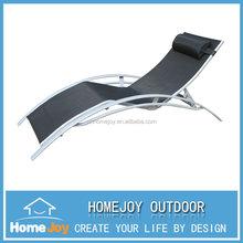 Comfortable new aluminium sun bed, beach sun lounger, sun lounger for sale