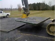Hdpe dozer pista tapetes de protecção de pavimentos / HDPE plástico temporária roadways