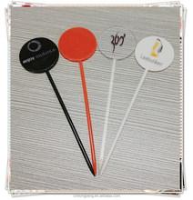Novelty plastic stick/swizzle stick/ cocktail stick stirrer