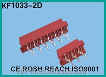 RED IDC SOCKET MRCRO MATCH CONNECTOR10pin