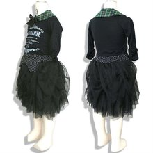 Black Polyester Tulle Skirt clothing factories in china baby girl boy infant 2012 fashion women business suits dresses evening