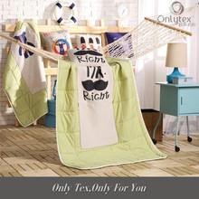 Fashion design Linen cotton blanket