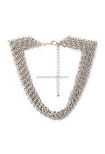 fashion design women necklace large chain link necklace