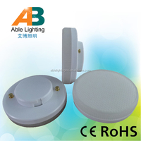 ra>80 5w warm white 3000k 360lm brightness 220v led spot downlight gx 53