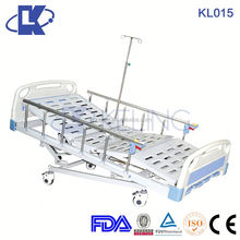 OEM two functions manual hospital bed with dining board hospital beds electrical hospital bed