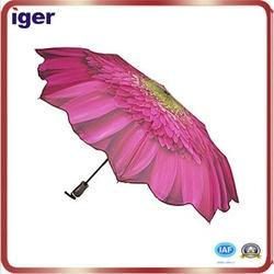 8 ribs foldable rain umbrella