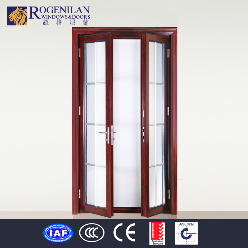 Rogenilan office interior double door with frosted glass for Office doors with windows