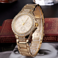 Watch Paypal Acceptable Women Stainless Steel Quartz Watch Wholesale