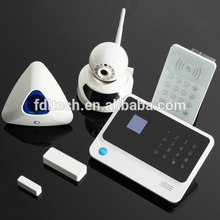 wifi+gprs push WIFI GSM alarm system G90B Spanish Turkish French word menu for global usage