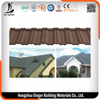 New Design Colorful Stone Coated Metal Roofing Tile