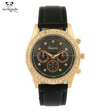 Fashion ladies watch gift custom geneva watches quartz
