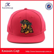 2015 fashion two tone 3D embroidery custom 6 panel snapback cap and hat