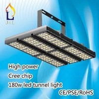 High quality good cheap price 180W led tunnel light, high power factor with ce approval, professional project lighting