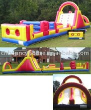inflatable obstacle game