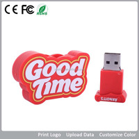 Cheap customized pvc flash drive, cheap customized pvc usb flash logo 1gb 2gb 4gb 8gb 16gb 32gb 64gb
