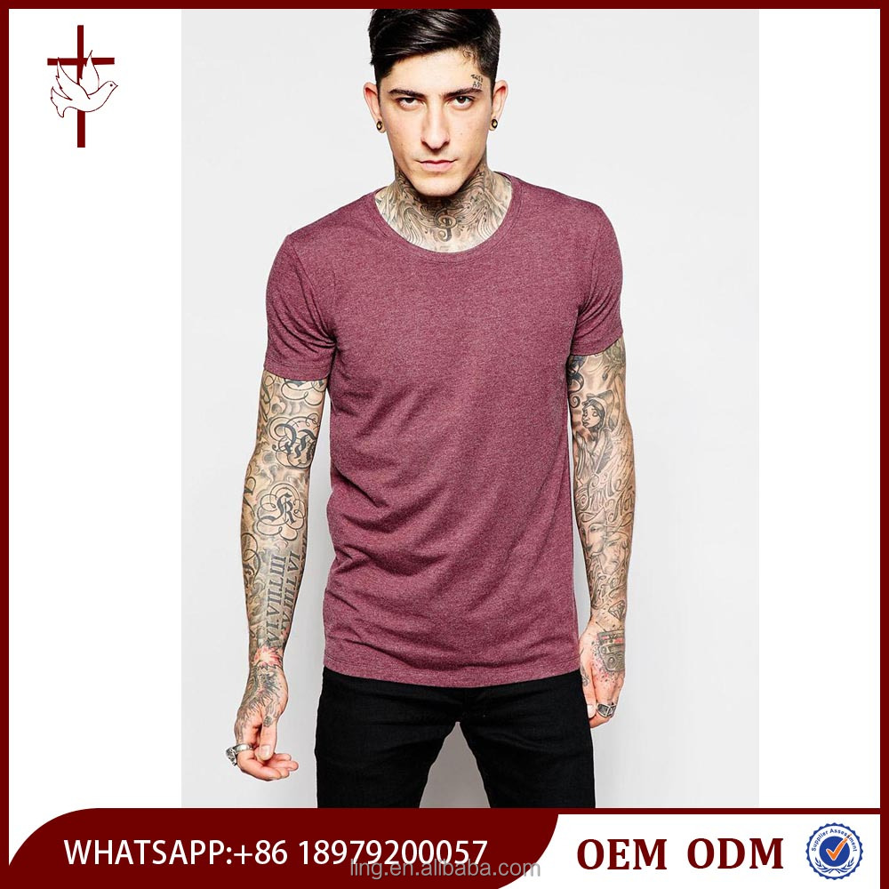 Gym wear high quality t shirt men wholesale bulk blank t Bulk quality t shirts