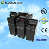Bluesun ROHS certificate deep cycle home system use 40ah 12v agm battery