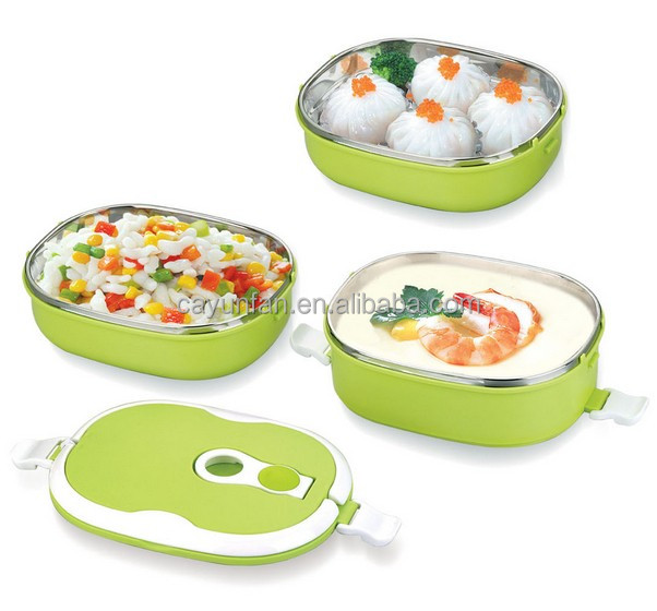 Keep Food Warmer ~ Two layers thermal lunch box tiffin carrier keep