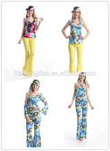 Walson party city instyles Leading Factory S-6XL plus sizeSexy Womens Ladies 60s 70s Retro Hippie Hippy Costumes Party Made in
