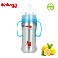 2015 baby products 180ML Automatic BPA FREE Stainless Steel Baby Feeding Bottle