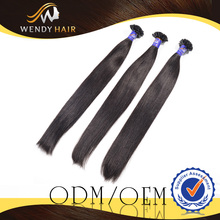No Tangle No Dye Virgin Remy Malaysian Human Hair Clip In Straight Hair