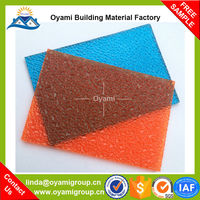 Soundproof uv protected building material plastic