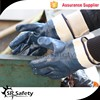 SRSAFETY heavy duty blue nitrile glove with safety cuff