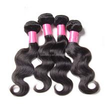 Top sell virgin and aliexpress brazilian hair extension QHHE-5042