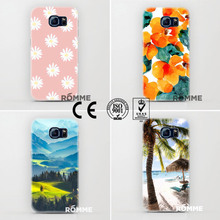 High Quality Phone Cases Printed On The Back And Sides 2015 new design for samsung galaxy s6 mobile cover wholesale