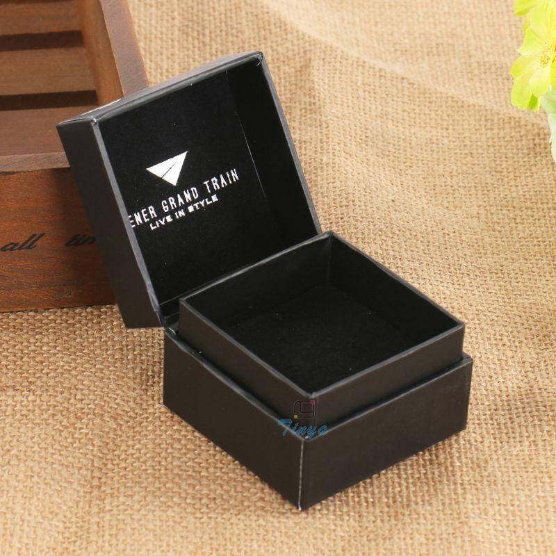 black paper jewelry packaging luxury ring box buy luxury