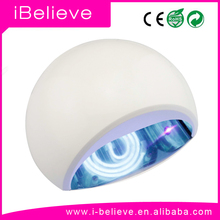 2015 Hot New!!! EXCLUSIVE Portable Half-Pearl 24W ccfl nail led uv lamp 18w moon led nail lamp