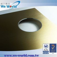 OEM magnificent color anodized stamped aluminium covers