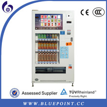 china supplier full automatic 32 inch touch screen coin operated drink vending machine