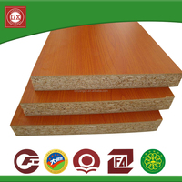 1220x2440mm Melamine Laminate Particle Board/Weight Of Particle Board For Furniture